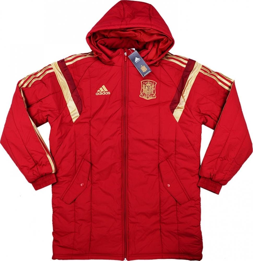 2016-2017 Spain Adidas Padded Jacket (Red)