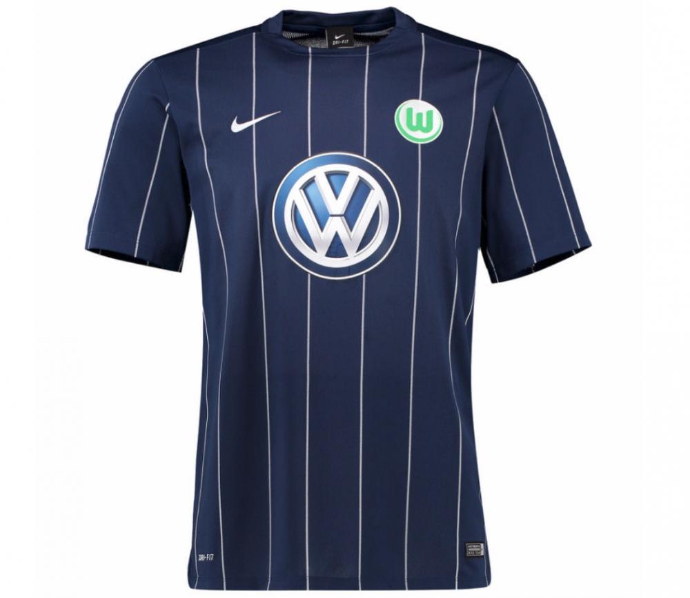 2016-2017 VFL Wolfsburg Third Nike Football Shirt