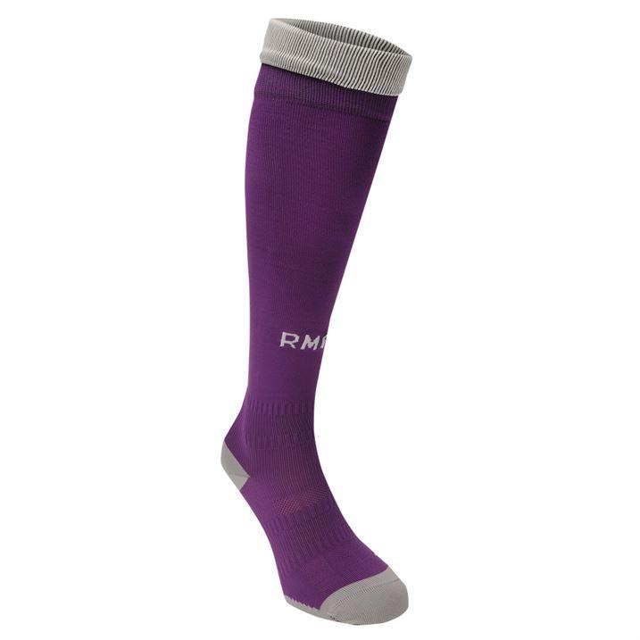 Real Madrid Adidas Away Socks Purple Aiai