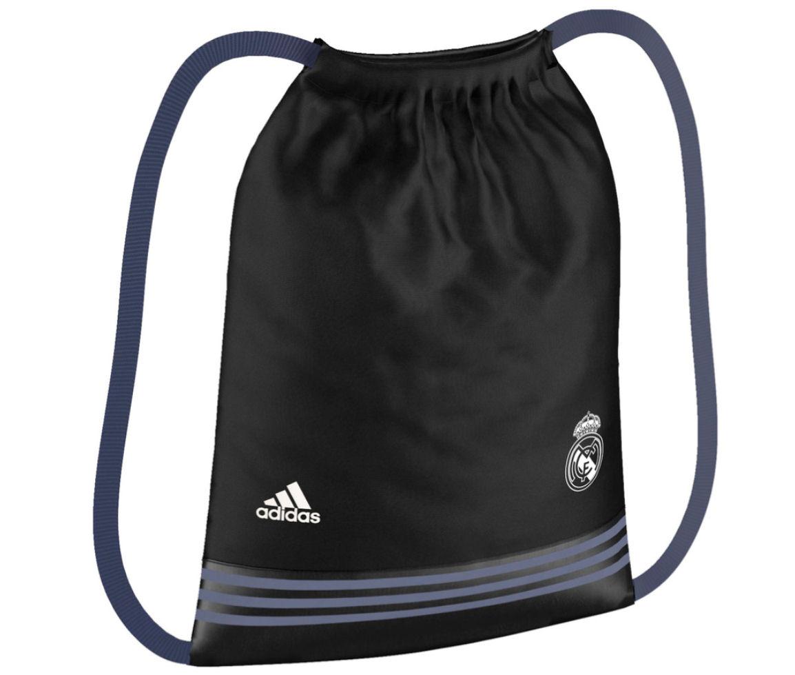 2016-2017 Real Madrid Adidas Gym Bag (Black)