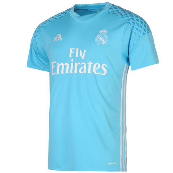 2016-2017 Real Madrid Adidas Home Goalkeeper Shirt