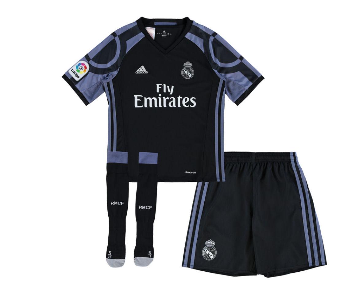 2016-2017 Real Madrid Adidas Third SMU Mini Kit