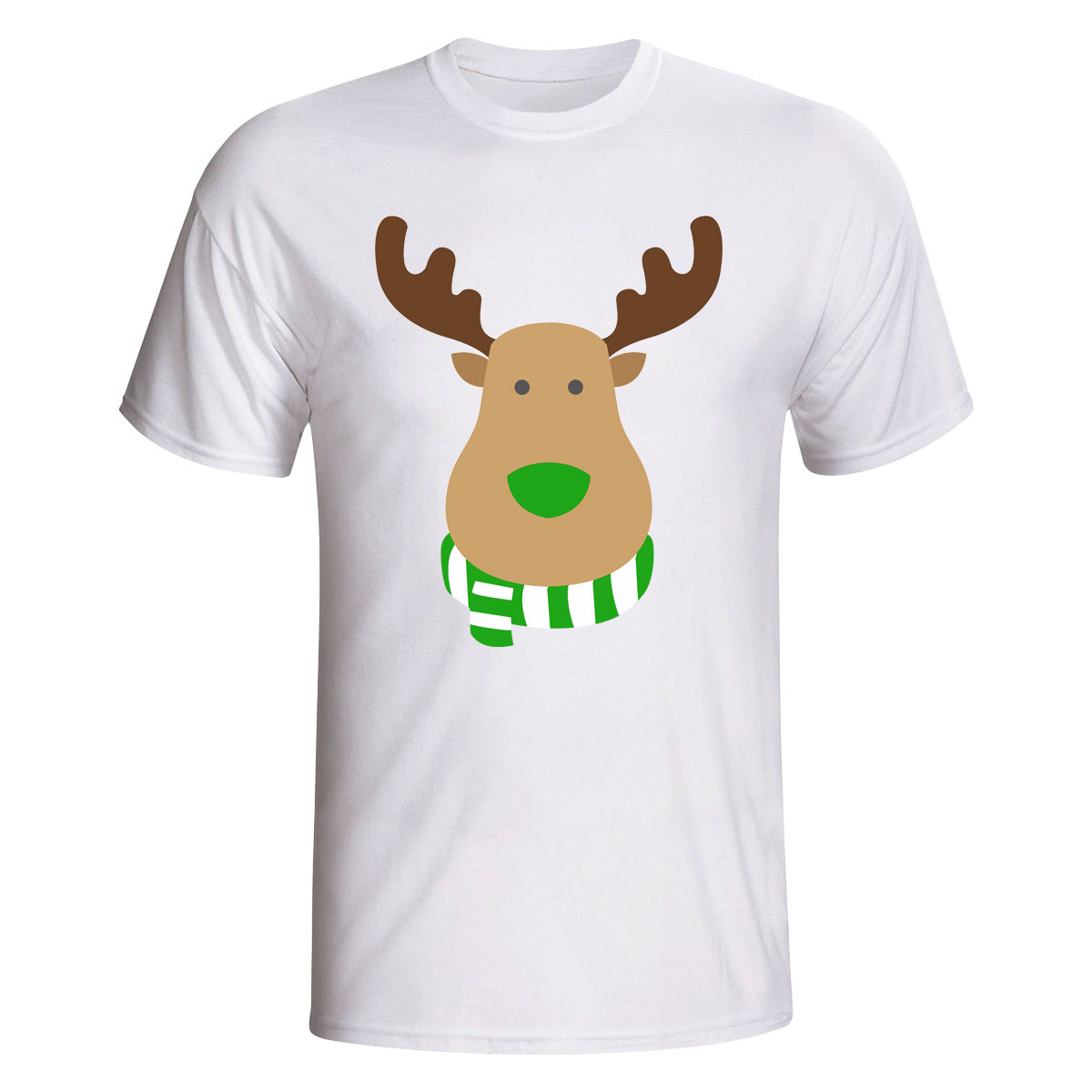 Portland Timbers Rudolph Supporters T-shirt (white)