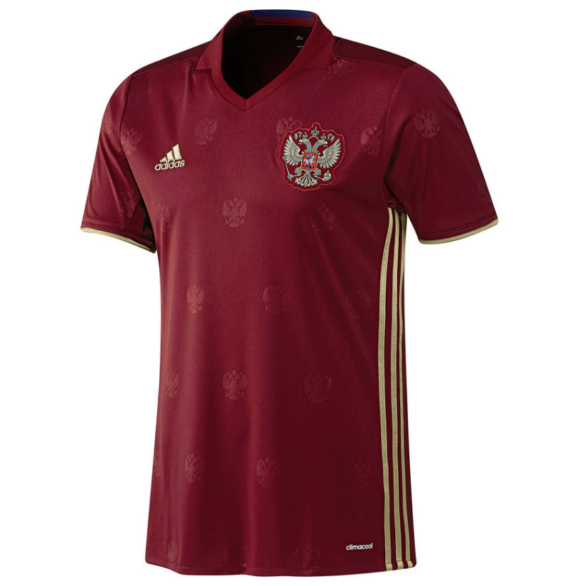 2016-2017 Russia Home Adidas Football Shirt (Kids)