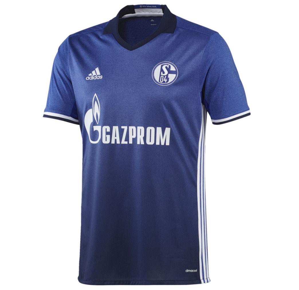 2016-2017 Schalke Adidas Home Shirt (Kids)