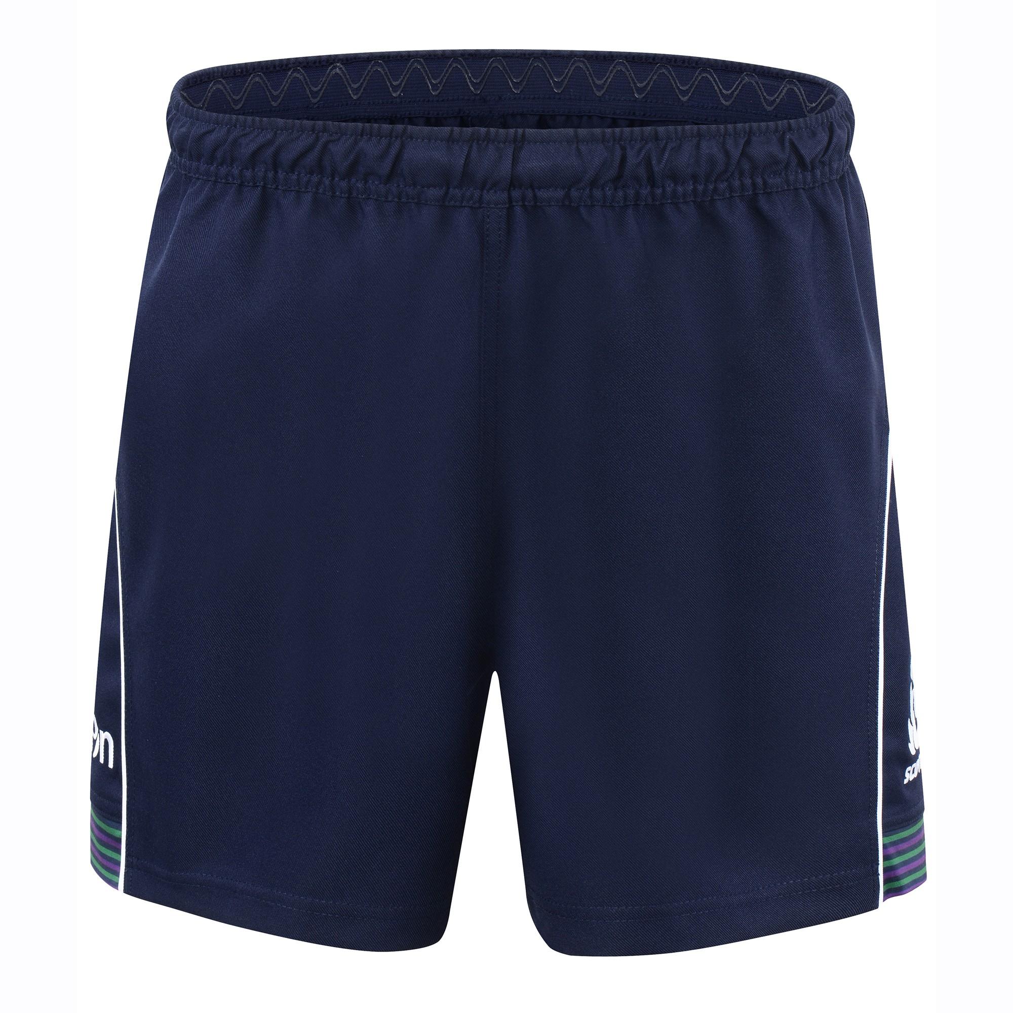 2016-2017 Scotland Macron Alternate Rugby Shorts (Navy)