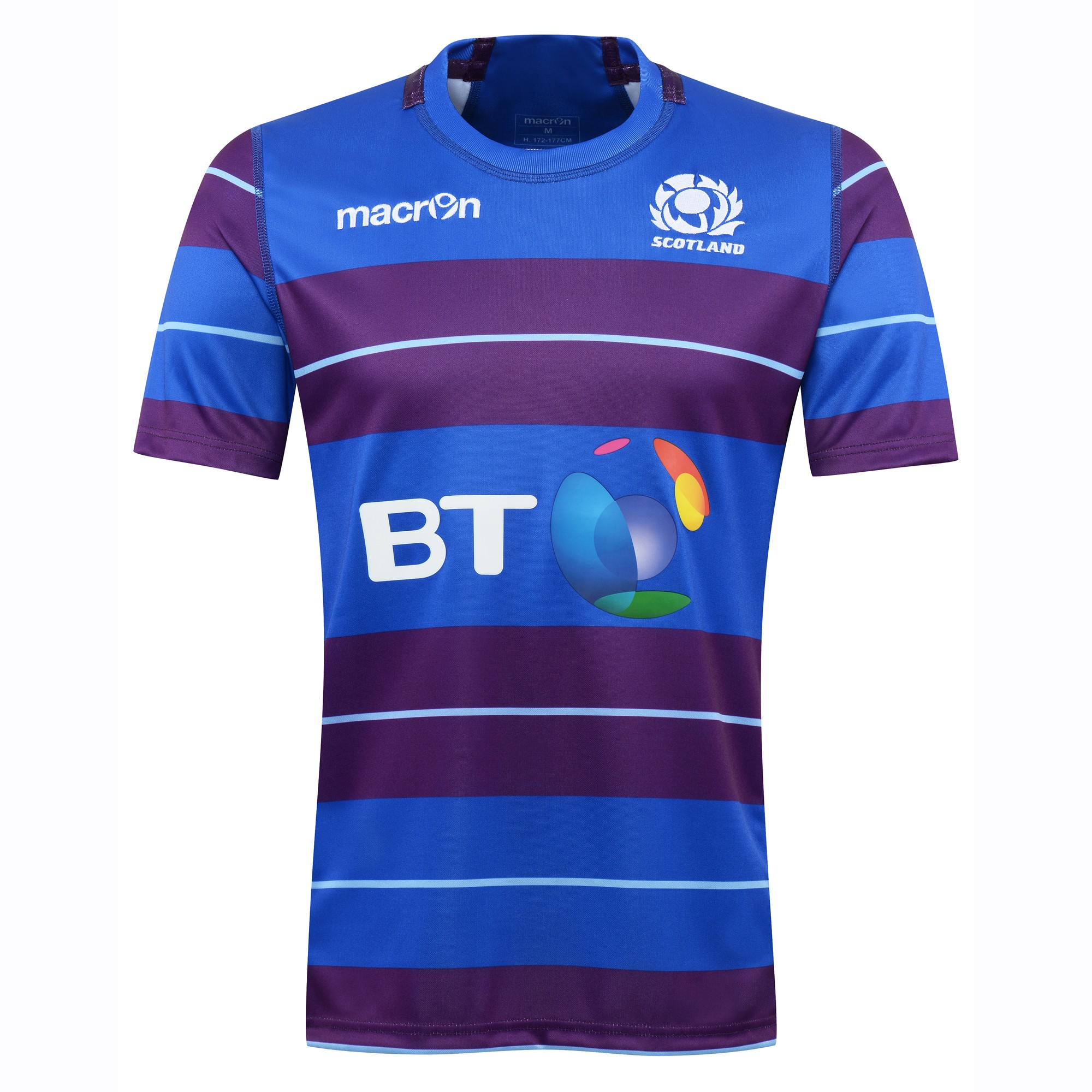 2016-2017 Scotland Macron Rugby Training Jersey (Blue) - Kids