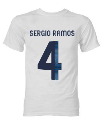 Sergio Ramos Real Madrid Hero T-Shirt (White)