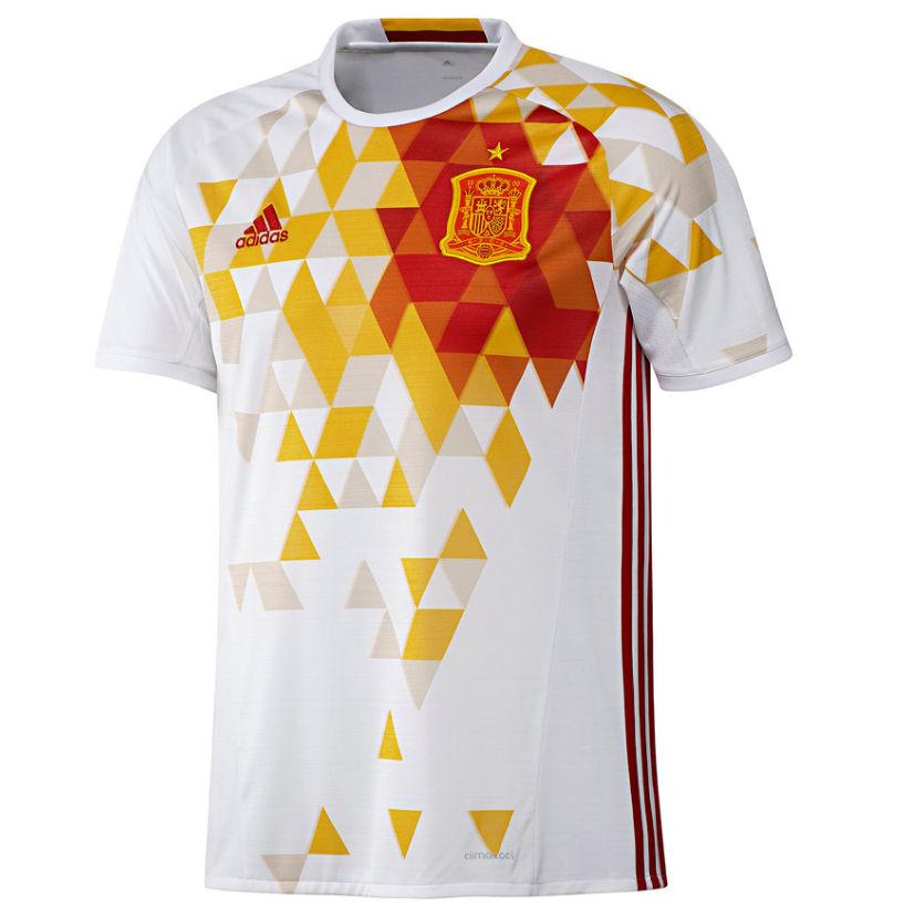 Spain Away Adidas Football Shirt Aa Uksoccershop