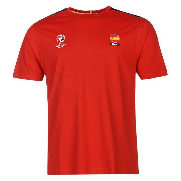 Spain UEFA Euro 2016 Core T-Shirt (Red)