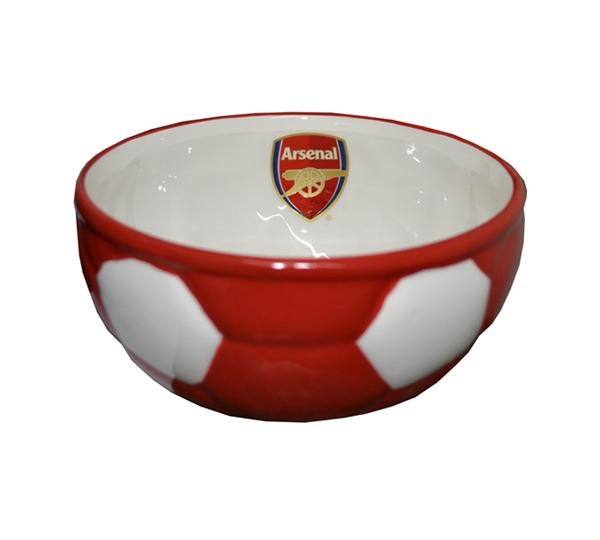 Arsenal Ball Base Cereal Bowl