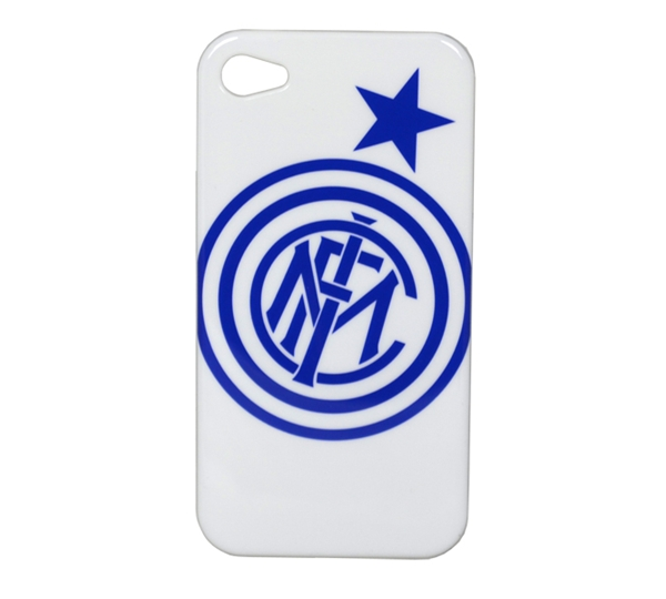 Inter Milan White Iphone 4-4s Phone Case