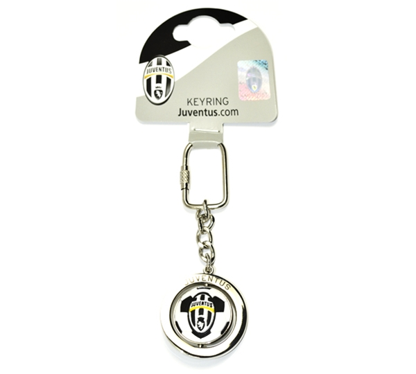 Juventus Football Spinner Keyring