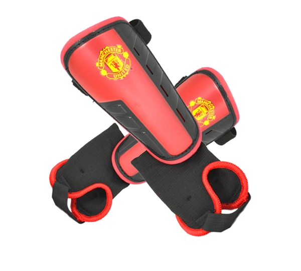 Man Utd Ankle Strap Shinguard-boy's