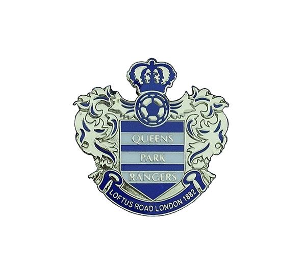 Queens Park Rangers Crest Pin Badge
