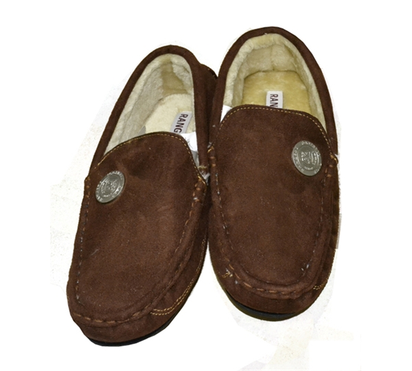 Rangers Mens Moccasin Slipper (9/10)