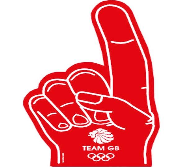 Team Gb Red Foam Hand