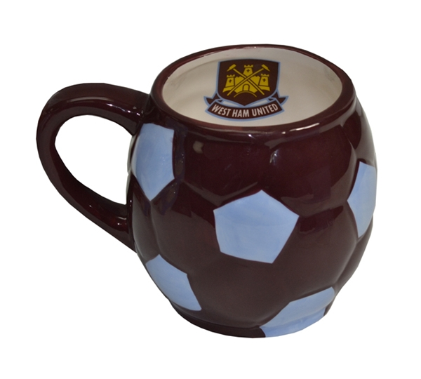 West Ham Ball Base Mug