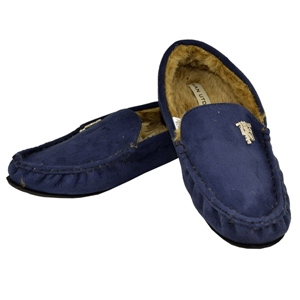 Man Utd Moccasin Slipper (11-12)