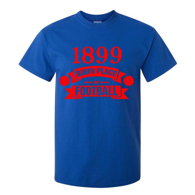 Barcelona Birth Of Football T-shirt (blue)