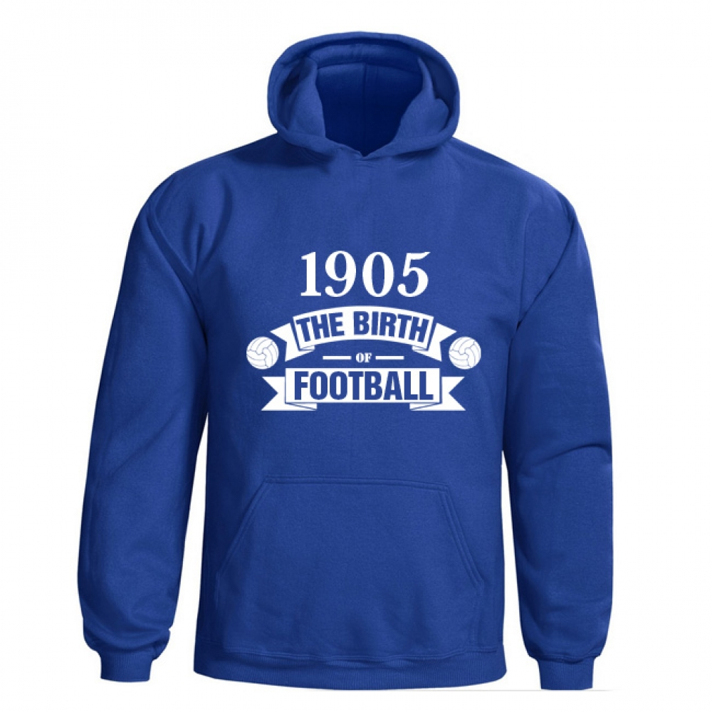 Chelsea Birth Of Football Hoody (blue)