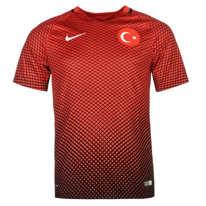 2016-2017 Turkey Home Nike Football Shirt