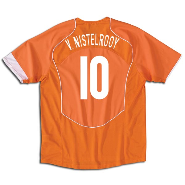 Holland home (V.Nistelrooy 10) 04/05
