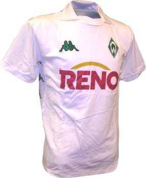 Werder Bremen away 03/04