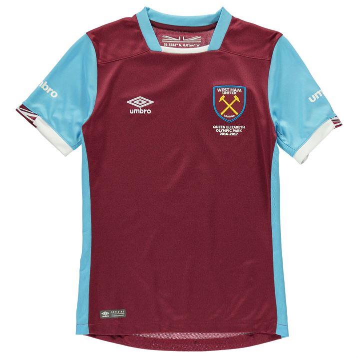 2016-2017 West Ham Home Football Shirt (Kids)