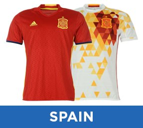 more photos 8963f dc178 International Football Shirts | Buy National Kits | UKSoccershop