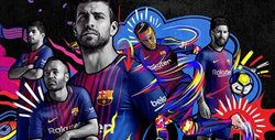 Barcelona 17-18 Home Shirt