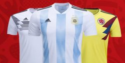 2018 World Cup Kits